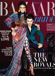 BAZAAR BRIDE, FAWAD KHAN – NOV '15