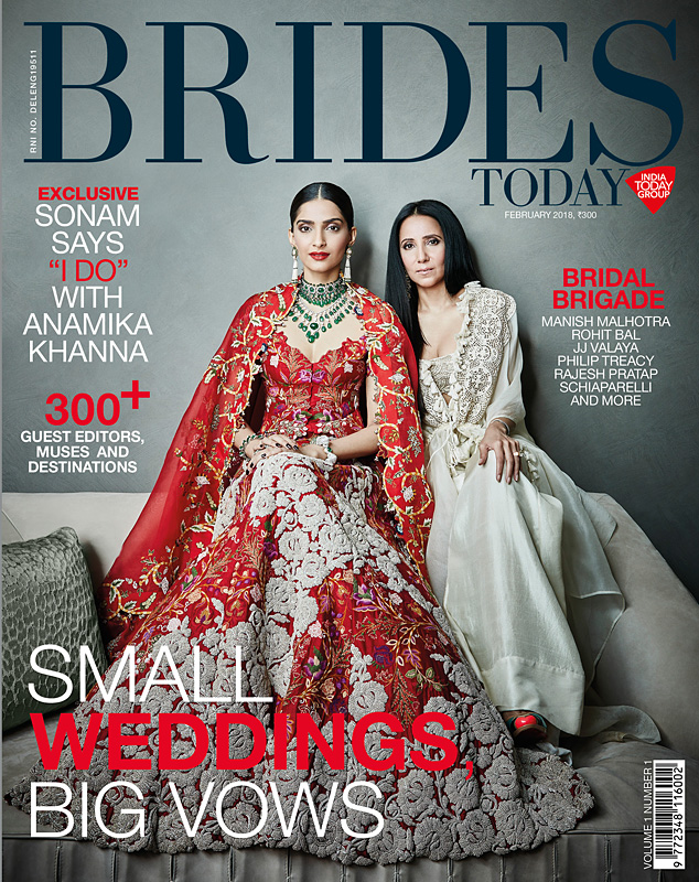 SONAM KAPOOR – BRIDES TODAY