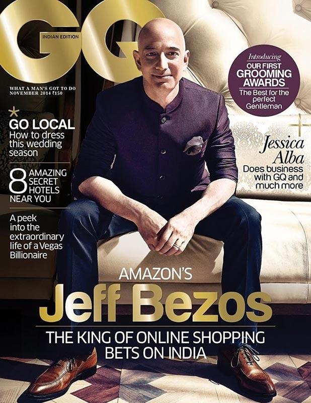 GQ – JEFF BEZOS