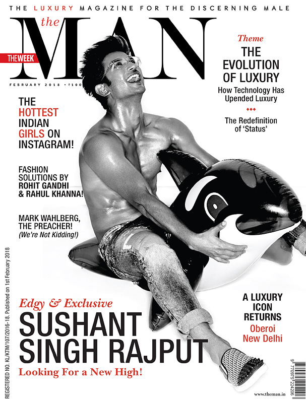 SUSHANT SINGH – THE MAN